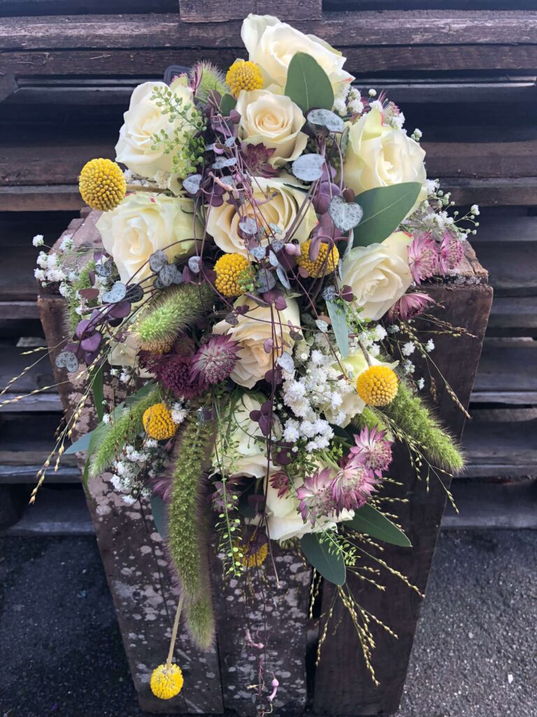Masielas Blomster brudebuket